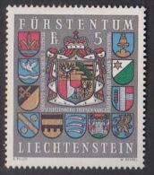 Liechtenstein 1973 Arms MNH - Liechtenstein