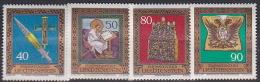 Liechtenstein 1977 Treasures Of Roman Empire   Set  MNH - Liechtenstein