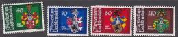 Liechtenstein 1980 Arms  Set  MNH - Liechtenstein