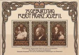 Liechtenstein 1981 75th Anniversary Of Prince Franz Joseph Mini Sheet MNH - Liechtenstein