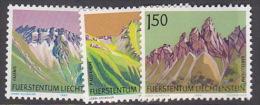 Liechtenstein 1989 Mountains 3 Val  MNH - Liechtenstein