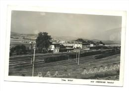 AK Oberhaid - Böhmen - Bahnhof - Eisenbahn - Gelaufen Ca. 1940 - República Checa