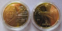 "Ukraine - 2 Grivna Coin 2010  ""Ivan Kozhedub"" UNC - Ucraina"