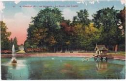 Cpa  Luneville Les Bosquets Le Bassin Des Cygnes - Luneville