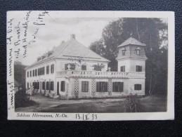AK HÖRMANS B. LITSCHAU Gmünd 1933 Adelskorrespondenz Hayn  /// D*19618 - Gmünd