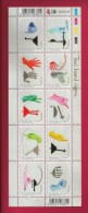 SOUTH AFRICA, 2010, Mint Never Hinged Full Sheet Stamps, Taxi Hand Signs, Sa1993-2002 #nr. 3850 - Unused Stamps
