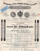 VP3487  - Document Commercial - Manufacture De Tissue & Fabrque De Ressorts Pour Jupons CRIBIER Jeune à PARIS - France