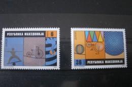 Timbres De Macedoine  EUROPA  .2002** - Mazedonien