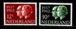 NEDERLAND 1962 MNH Stamp(s) Silver Wedding 764-765 #048 - Period 1949-1980 (Juliana)