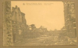 Dixmude - Diksmuide 14-18: Rue De La Station / Stationsstraat  (pk419) - Guerra 1914-18