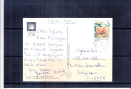 CP From Cayman Island To Belgium - 1996 (to See) - Iles Caïmans