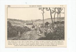 G-I-E , Cp , Dessin De A. Carlier , Histoire De France , Ed : Lib. Istra , N° 15 , Aux Abords Du Monastère - Storia