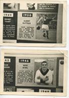 Football 6 Photos 1946 49 50 55 Bihel Yachine Dominguez Marquitos Santamaria Pachin Vidal Zarraga Jonquet Batteux - Fútbol