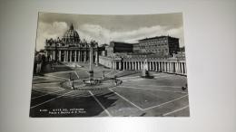 C-46666 ROMA CITTA DEL VATICANO PIAZZA E BASILICA DI SAN PIETRO - Roma (Rome)