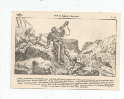 G-I-E , Cp , Dessin De A. Carlier , Histoire De France , Ed : Lib. Istra , N° 14 , Mort De Roland à Ronceveaux - Storia