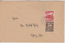 G 344) DR 1940 Mi# 751+756 O: Artushof Danzig; Porta Nigra In Trier  (Rom, Römer In Germanien) - Alemania