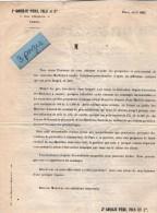 VP3498 - Document Commercial - Machines A Coudre Françaises J.GOURJU Père & Fils à PARIS Rue D´Enghien - France