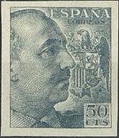 ESPAÑA 1940/45 GENERAL FRANCO  Edifil 927 S  MNH ** - 1931-Oggi: 2. Rep. - ... Juan Carlos I