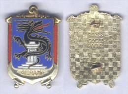 Insigne Du 41e Régiment D´Artillerie De Marine - Armée De Terre