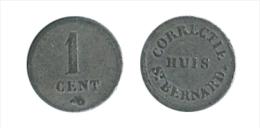 N2146 - Hemiksem: Correctie Huis St Bernard: 1 Cent - Monétaires / De Nécessité