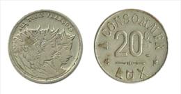 N2148 - Luxembourg: Aux Trois François: 20 C - Monetari / Di Necessità