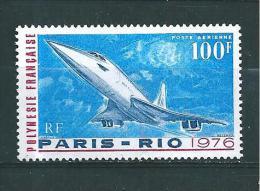 Polynésie  Poste Aérienne De 1976   N°103  Neuf * Petite Trace De Charnière - Airmail