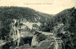 CPA - Yssingeaux (43) - Pont Ferroviaire De L´Enceinte - Yssingeaux