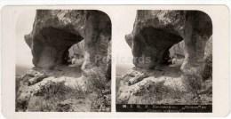 Koltso Hill - Siniiy Kamen - Kislovodsk - Caucasus - Russia - Russie - Stereo Photo - Stereoscopique - Old Photo - Photos Stéréoscopiques