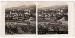 New Baths - Kursaal - Town - Kislovodsk - Caucasus - Russia - Russie - Stereo Photo - Stereoscopique - Old Photo - Photos Stéréoscopiques