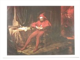 Royal Jester Stanczyk /  Polish King Sigismund The Old / 16 Century  / Matejko Painted - Historia