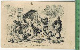Die Erste Kanone, 1926, Verlag: --------. Postkarte, Ohne, Frankatur, Stempel,   Maße: 14  X 9 CmErhaltung: I-II, Karte - Ausrüstung
