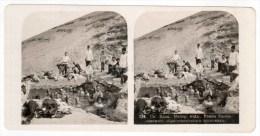 Mineral Waters Station - Salt-alkaline Bath - Caucasus - Russia - Russie - Stereo Photo - Stereoscopique - Old Photo - Photos Stéréoscopiques