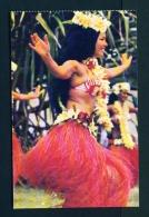 TAHITI  -  Dancing Girls  Unused  Postcard - Tahiti