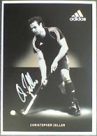 AK2 Field Hockey Christopher Zeller Original Autograph Card Autogramm - Autographes