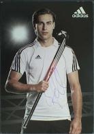 AK2 Field Hockey Christopher Zeller Original Autograph Card Autogramm - Autógrafos