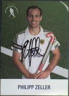 AK2 Field Hockey Philipp Zeller Original Autograph Card Autogramm - Autographes