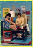 Design Sixties, Seventies.  Yéyé, Bobo. 60, 70.  Tamtam, Knoll Eero Saarinen.  Carte Postale. Edit Cecami - Non Classés