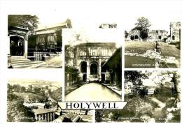 Flintshire. Holywell. Postcard Multiviews Holywell. - Flintshire