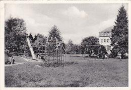 """Aw - CPSM Belgique - Sart Lez Spa - Home """"La Sapinière"""" Tehuis - Plaine De Jeux - Speelplaats - Jalhay"""