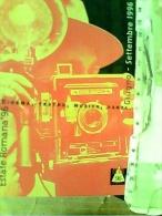ROMA, PUBBLICITA ESTATE ROMANA 96 (FOTOGRAFIA TEATRO  CINEMA EE) N1996  FJ11198 - Mostre, Esposizioni