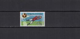Czechoslovakia 1986 Football Soccer World Cup Stamp MNH - World Cup