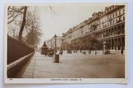 Lancaster Gate, LONDON, ENGLAND, Real Photo Postcard RPPC - Otros