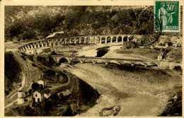 CPA -  Chapeauroux (48) - Viaduc Ferroviaire - France