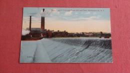 West Virginia Pulp & Paper Mill & Dam   Mechanicville NY ========== ====== Ref 30 - Industry