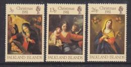 Falkland Islands 1981 Christmas 3v ** Mnh (FI1007G) - Falklandeilanden