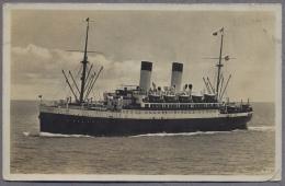 """HAMBURG SUD AMERIKA LINIE """"MONTE OLIVIA""""  Seepost  1935y.    C019 - Piroscafi"""