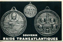 Médaille Du 1er Raid Paris New-York En 1927 - Aviazione