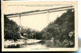 Viaduc De La TARDES (23) - Construit Par Gustave Eiffel De 1882 à 1885 - Passage D'un Train - Frankreich