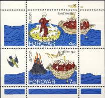 ##Faroe Islands 1994. EUROPE/CEPT. Michel Block 7. MNH (**) - Féroé (Iles)
