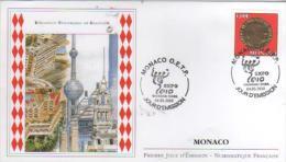 MONACO  Exposition Universelle De Shanghai  4/03/10